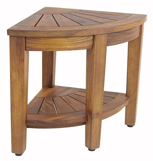 Purchase A Teak Corner Shower Bench Teak Shower Bench