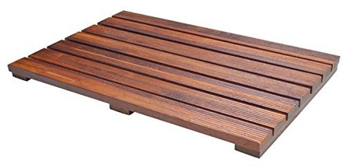 teak shower mat is the best option to relax and enjoy the shower all the water drains away from your feet when you stand on a teak shower mat - Teak Shower Mat