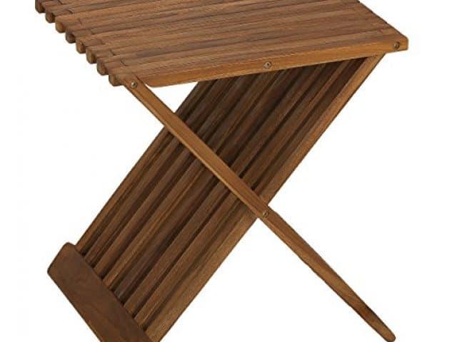 Best make use of the Folding Teak Shower Seat bench - Teak furniture