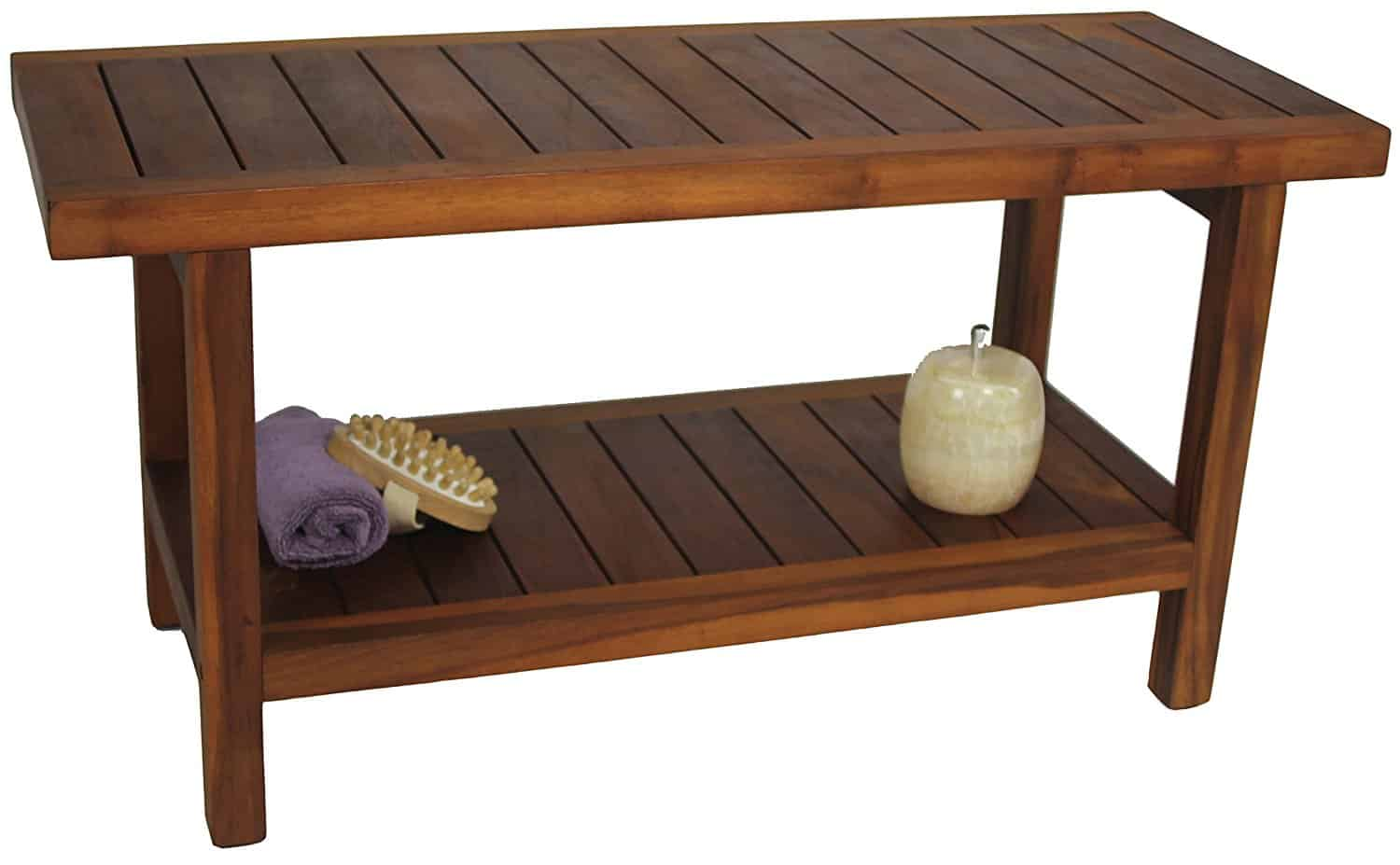 Teak Shower Bench Teak Shower Bench