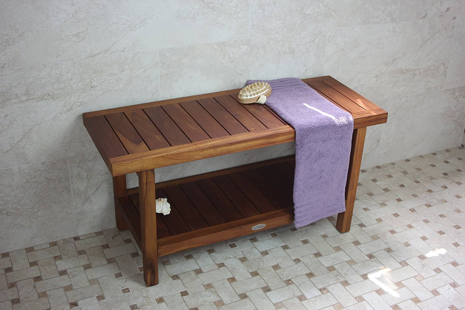 Teak Furniture for your bathroom - Teak Shower Bench| Teak Shower ...