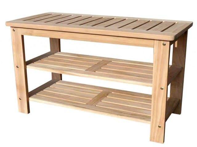 Astonishing The Best Teak Outdoor Shoe Bench From D Art Collection Lamtechconsult Wood Chair Design Ideas Lamtechconsultcom