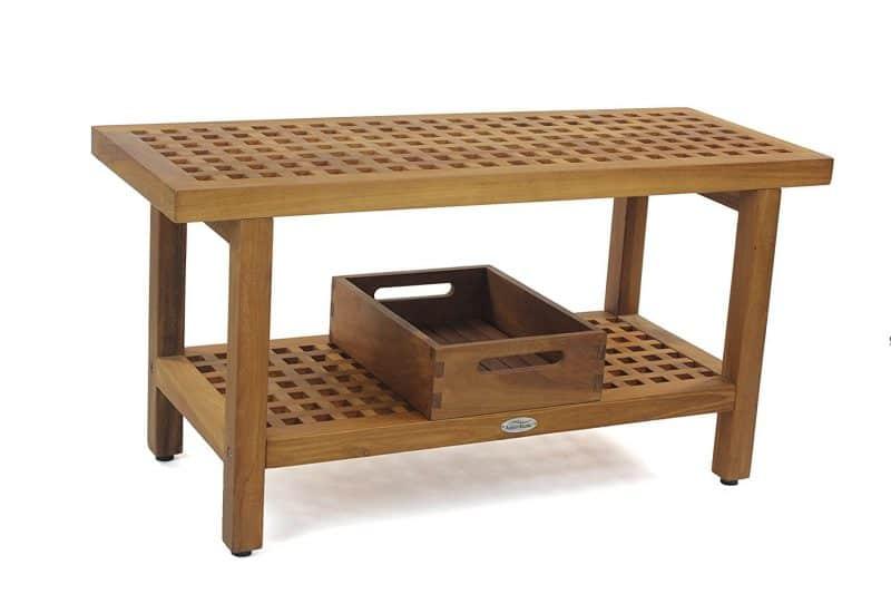 Grate top teak shower bench Archives - Teak Shower Bench| Teak ...