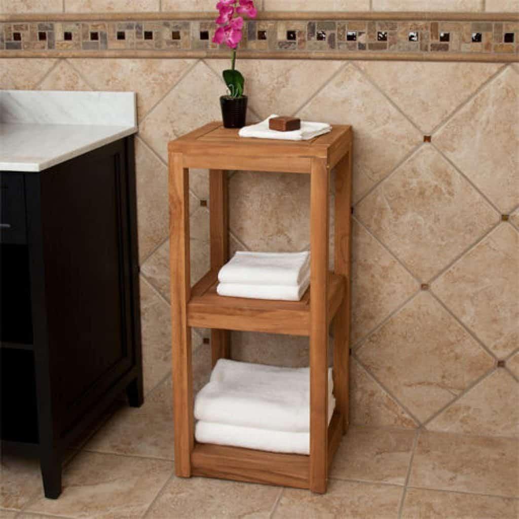 Best Teak Towel Rack For Your Bathroom Best Teak Shower Furniture