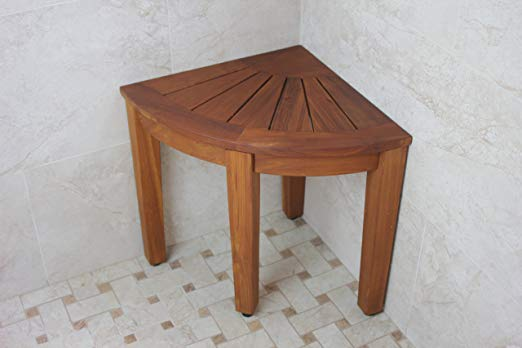 "15.5"" Teak Shower Bench"