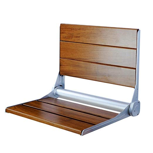 "18""Serena Folding Shower Bench Back Rest Seat"